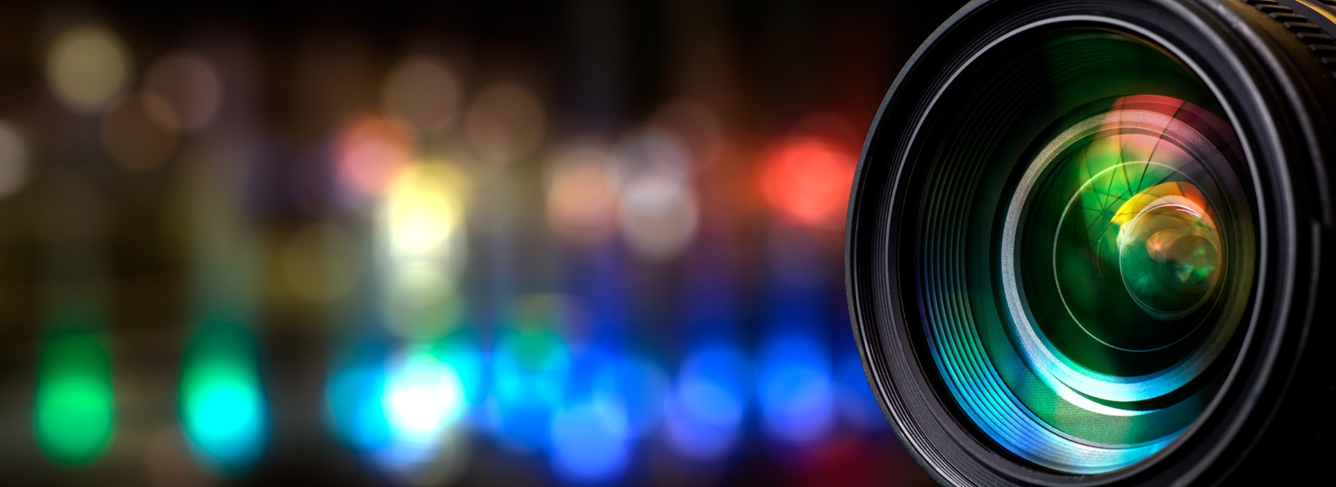 Slider Security Camera Lens