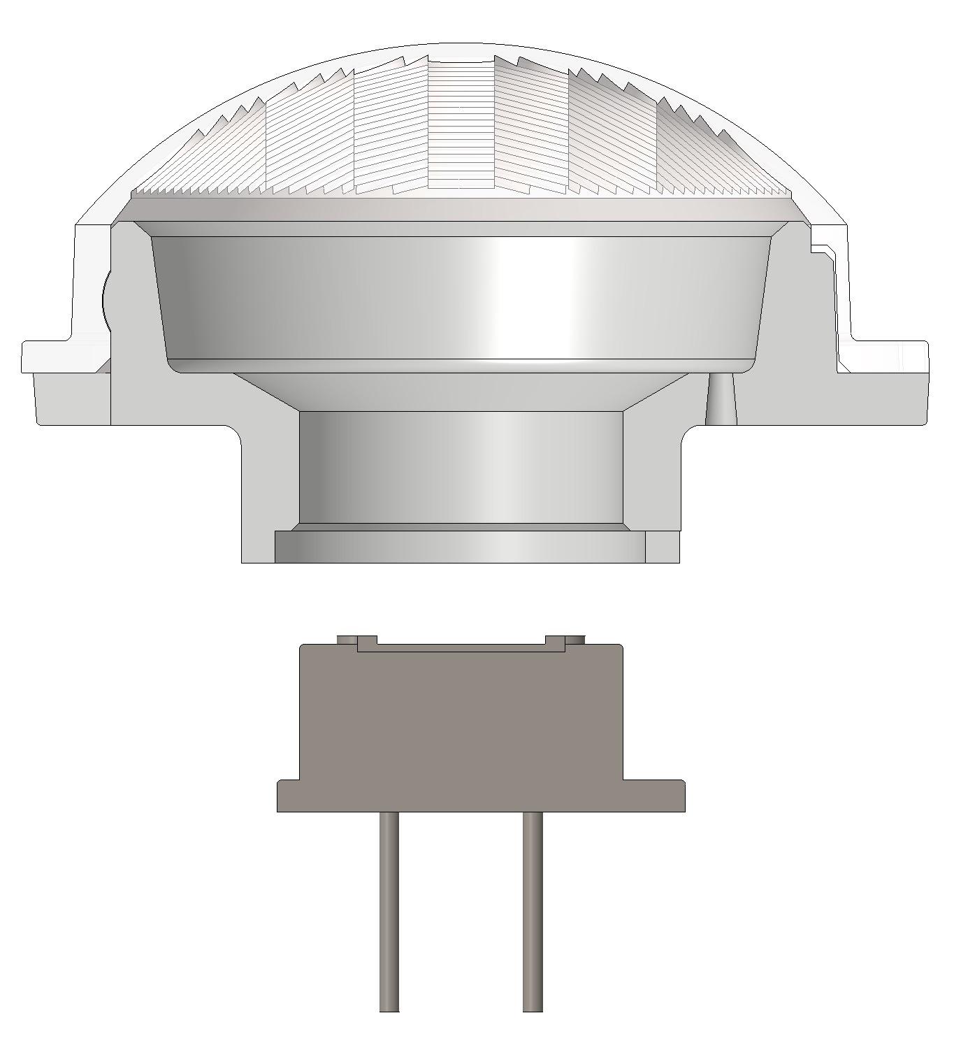 assembly - PIR Cap Lens