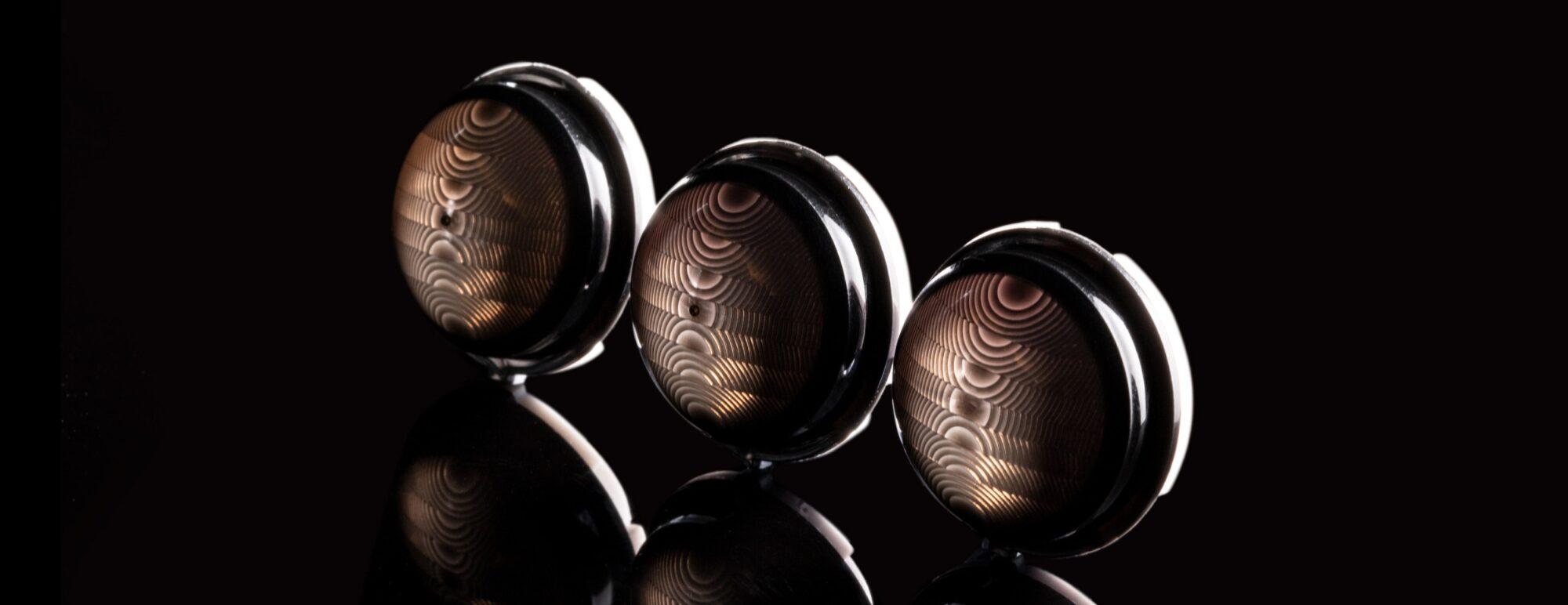 Domed Cap lenses - Design & Development